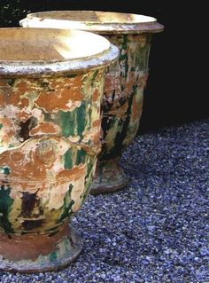 Anduze pots from pinterest
